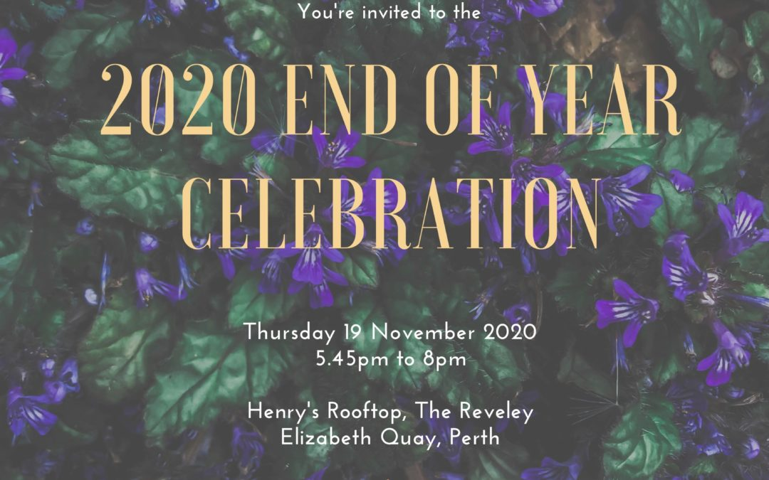 2020 End of Year Celebration – SOLD OUT!